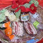 Cesti gastronomici<br />Cesto natalizio